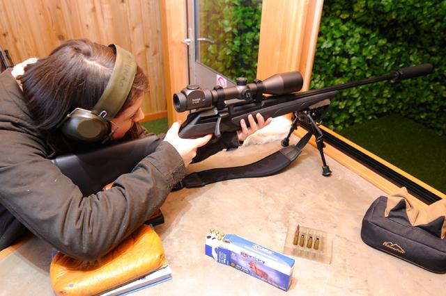 Highlands Shooting Centre, 100m Rifle Range shooting