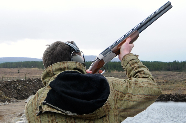Advanced Clay Target Shooting at Highland Shooting Centre