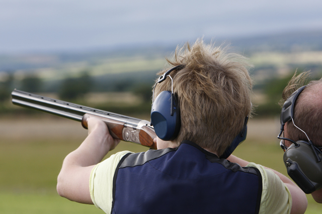 Clay pidgeon shooting for all ages at Highland Shooting Centre